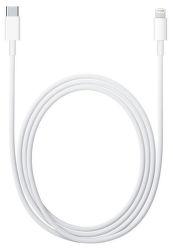 Apple MK0X2ZM/A Lightning - USB-C kabel 1m, bílá