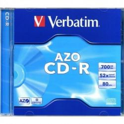 Verbatim CD-R Crystal, 1ks