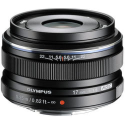 Olympus M.ZUIKO 17 mm f1.8 (černý)