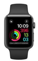 Apple Watch Series 1 42mm vesmírně šedý hliník/černý sportovní řemínek