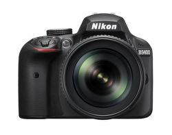 Nikon D3400 + AF-S DX 18-105 f/3.5-5.6G ED-IF VR vystavený kus splnou zárukou
