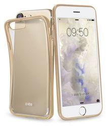 SBS pouzdro pro iPhone 7/8/SE 2020 transparent zlatý