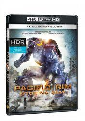 Pacific Rim - Útok na Zemi - 2xBD (Blu-ray + 4K UHD film)