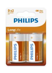Philips LongLife D (R20) 2ks