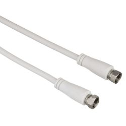 Hama 122435 SAT propojovací kabel, F-vidlice - F-vidlice, 90 dB, 3 m