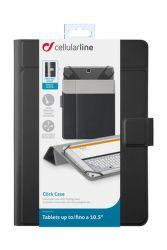 """CellularLine CLICK CASE 10,5"""" (černé)"""