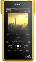 Sony NW-WM1ZN 256GB zlatý
