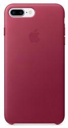 Apple kožený kryt pro iPhone 7 Plus, Berry