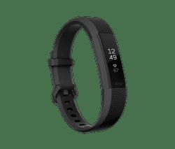 Fitbit Alta HR Gunmetal L černý