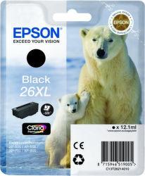 Epson T2621 26XL black (lední medvěd) - inkoustová náplň