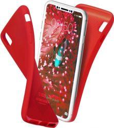 SBS Polo zadní kryt pro Apple iPhone X a Xs, červená