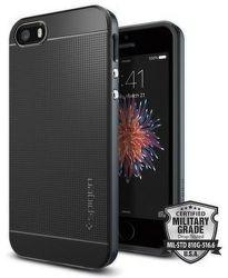 Spigen iPhone 5/5S/SE Case Neo Hybrid, šedá