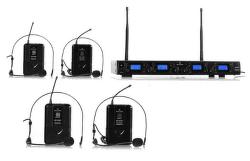 Malone UHF-550 Quartett2 bezdrátový mikrofonní set