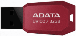 A-DATA UV100 32GB USB 2.0 červený