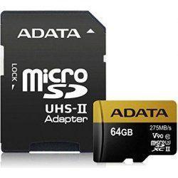 ADATA Premier One microSDXC 64GB UHS-II U3 + adaptér
