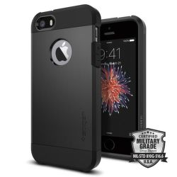 Spigen iPhone 5/5S/SE Case Tough Armor, černá