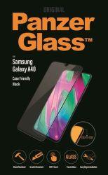 PanzerGlass Case Friendly tvrzené sklo pro Samsung Galaxy A40, černá