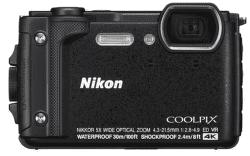 Nikon Coolpix W300 černý + plovoucí popruh