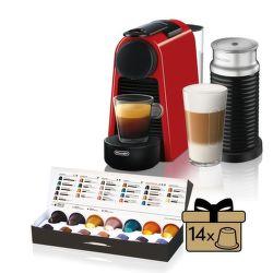 Nespresso De'Longhi Essenza Mini EN85.RAE Aeroccino3 vystavený kus splnou zárukou