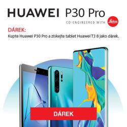 Huawei P30 Pro + tablet jako dárek