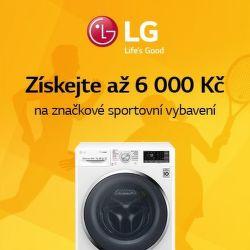Voucher na nákup značkového oblečení k pračkám a sušičkám LG