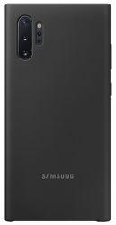 Samsung silikonové pouzdro pro Samsung Galaxy Note10+, černá
