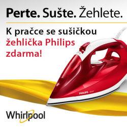 Dárek k pračkám se sušičkou Whirlpool