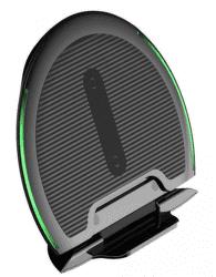 Baseus Foldable bezdrátová Qi nabíječka, černá