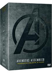 Avengers kolekce 1.-4. DVD film