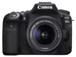 Canon EOS 90D + Canon EF-S 18-55mm f/3,5-5,6 IS STM