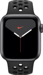 Apple Watch Series 5 Nike+ 44mm černý hliník s antracitovým/černým sportovním řemínkem