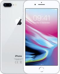 Apple iPhone 8 Plus 128 GB Silver stříbrný