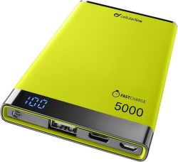 CellularLine Freepower Manta S 5000 mAh powerbanka, žlutá