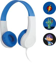 Sencor SEP 255 modrobílá dětská sluchátka