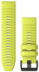 Garmin QuickFit 26mm silikonový řemínek pro Fénix 6X, žlutá