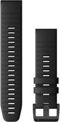 Garmin Quickfit 22 mm silikonový řemínek pro Fénix 6, černá
