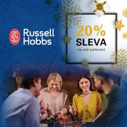 Sleva 20 % na celý sortiment Russell Hobbs