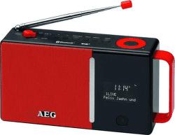 AEG DAB 4158 červeno-černé