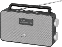 AEG DAB 4153 stříbrno-černé