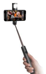 SBS Bluetooth selfie tyč s odpojitelným bleskem, černá
