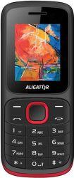 Aligator D210 černo-červený