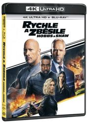 Rychle a zběsile: Hobbs a Shaw - Blu-ray UHD film