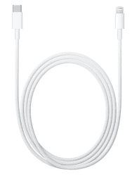 Apple datový kabel Lightning/USB-C 1 m bílý