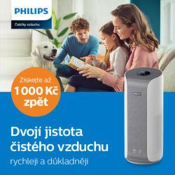 45 dní záruka vrácení peněz na zvlhčovače vzduchu Philips