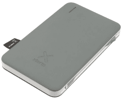 Xtorm Hubble powerbanka 6000 mAh 15 W Lightning, šedá