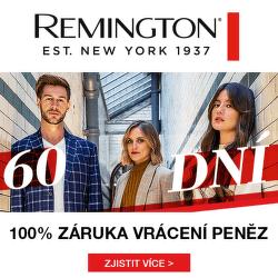 60 dní záruka vrácení peněz na výrobky Remington
