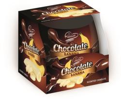 Sweet Home čokoláda-banán vonná svíčka