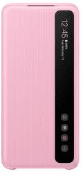 Samsung Clear View Cover pro Samsung Galaxy S20, růžová