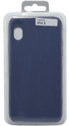 Mobilnet silikonové pouzdro pro Apple iPhone X, tmavě modrá