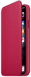 Apple Leather Folio knížkové pouzdro pro iPhone 11 Pro Max, červená